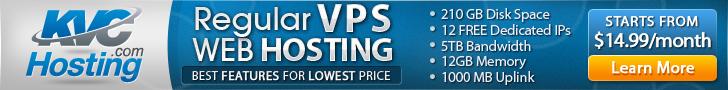 Regular VPS Hosting