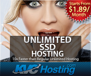 Unlimited SSD Hosting
