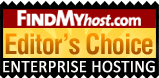 KVChosting has been awarded by FindMyHost Editor's Choice Award for Enterprise Servers